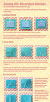 Sewing 102: Decorative Stitches