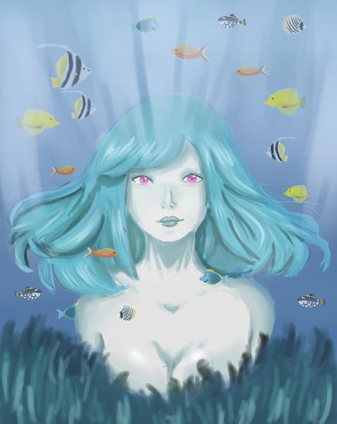 Serie Mermaid by YunaShu