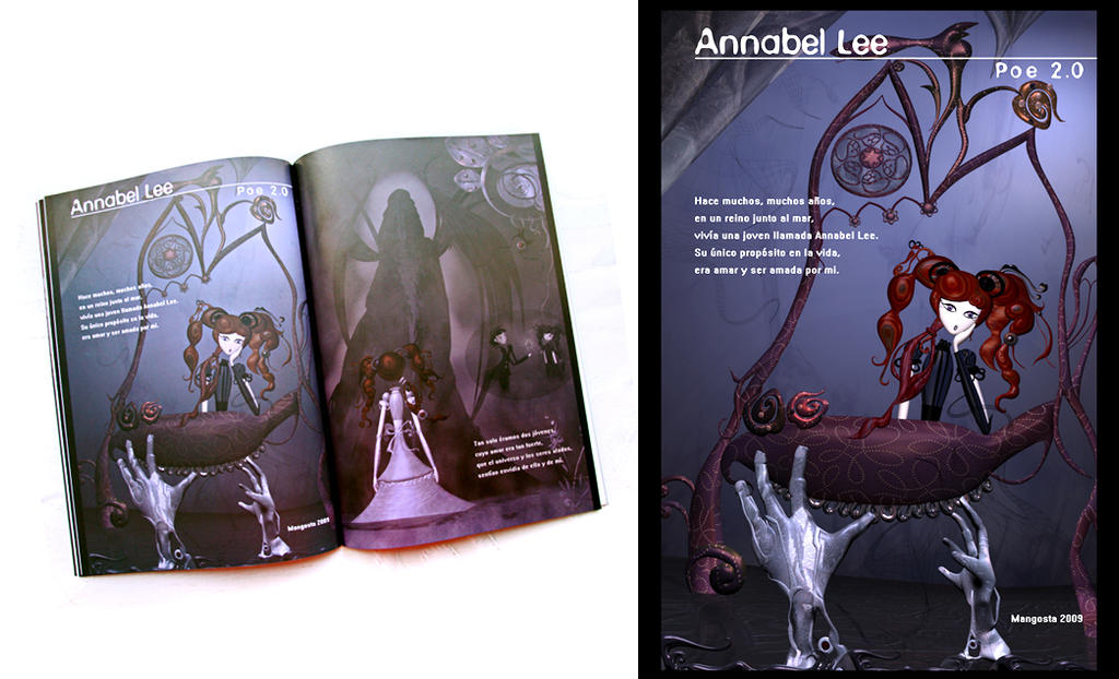 Annabel Lee by MangostaIllustration