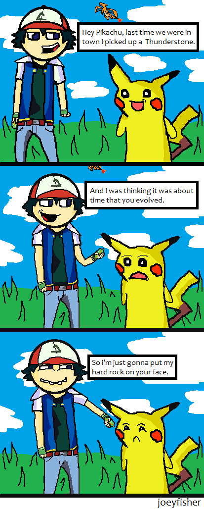 Pokemon comic by joeyfisher