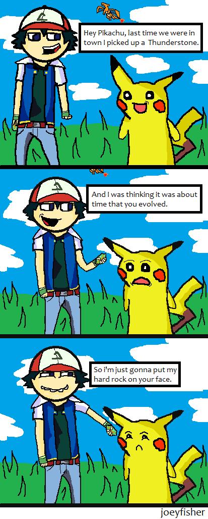 Pokemon comic by joeyfisher