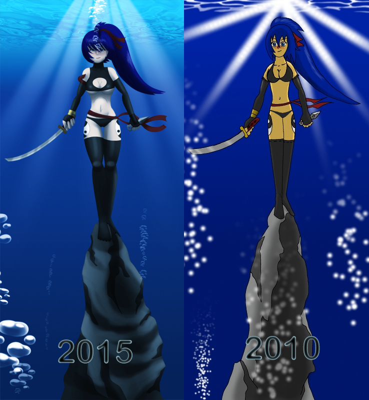 The meeting 2010-2015 Comparison by UWfan-Tomson