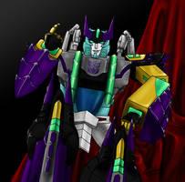 Cybertron Megatron by eabevella