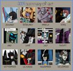 2009 summary of arts
