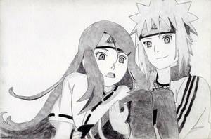 Minato and Kushina by rediceRyan2