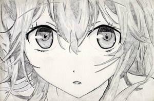 Anime Eyes Close Up by rediceRyan2