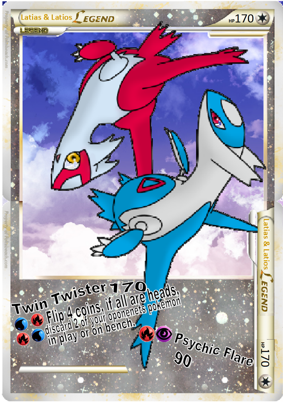 Pokemon Latios And Latias Cards - Hot Girls Wallpaper