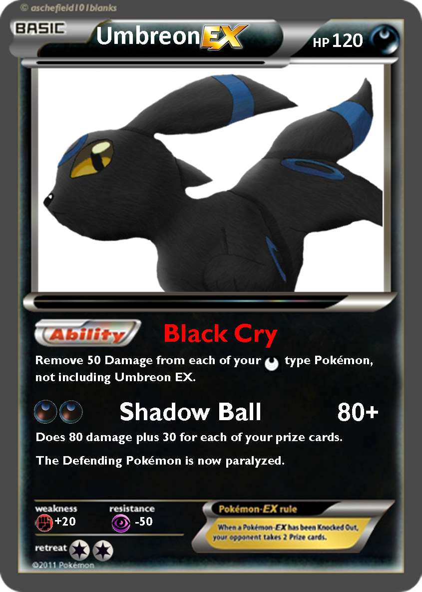 Umbreon Ex Card Images & Pictures - Becuo