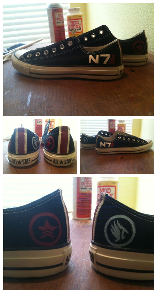 Commission: N7 Converse