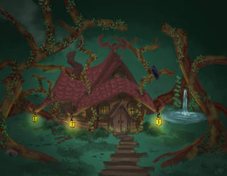 Witches Cottage by Kibi1411