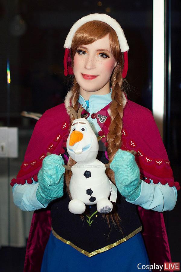 Frozen - Anna by ALESSAMELORI