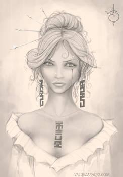 Woman Sketche