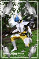 Den-O Wing form Cosplay by ikkakuro