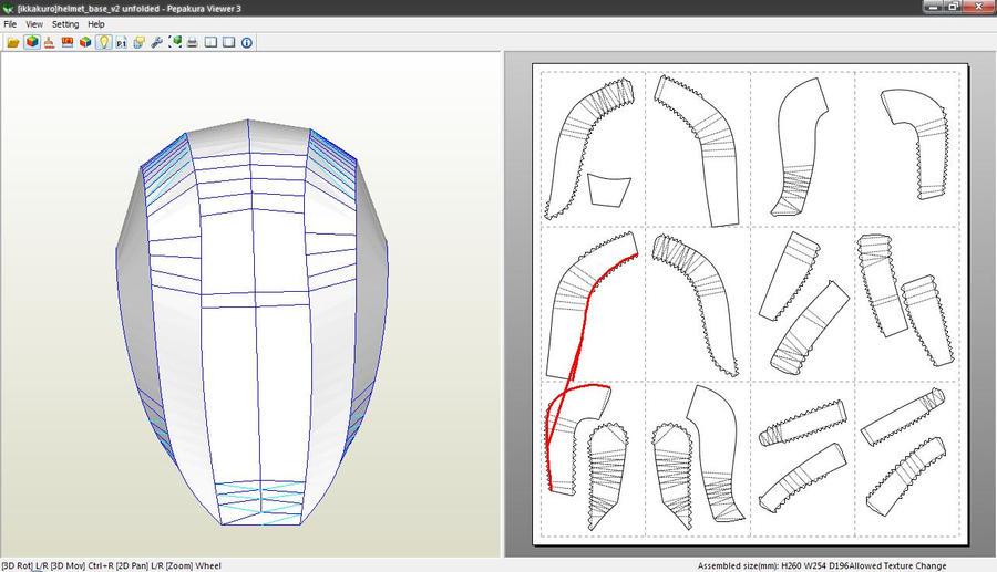 Pepakura Armor Templates – Desenhos Para Colorir