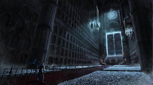 Concept Art Environment Cathedrale