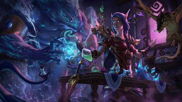 World of Warcraft Commission Illustration