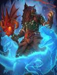 Orc Shaman World of Warcraft commission