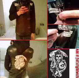Sons Of Anarchy Holland Jacket by FantasyWerewolf13