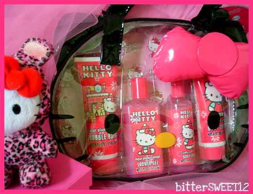 Hello Kitty Bath Set + Purse By BitterSWEETones ...
