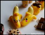 Kawaii Banana Charms