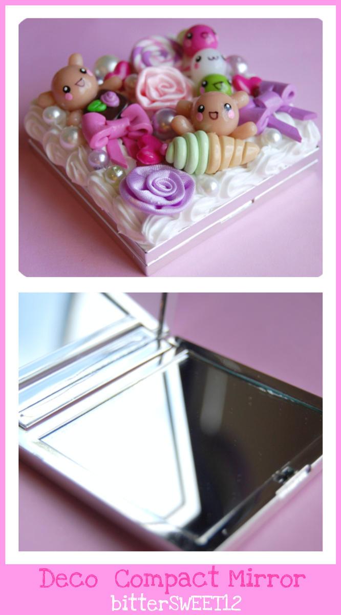 Happy 2 B Kawaii Deco Mirror by bitterSWEETones
