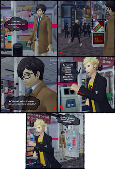 P5 AU: Another Story - Page 8