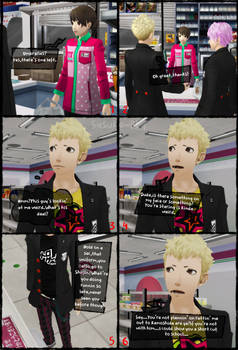 P5 AU: Another Story - Page 10