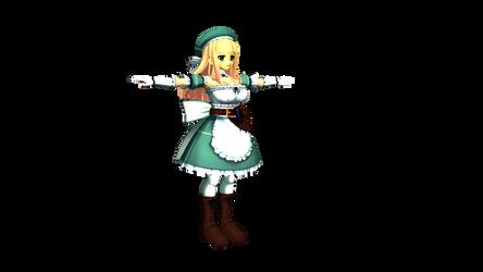 Senran Kagura 2 -Yomi WIP (render)