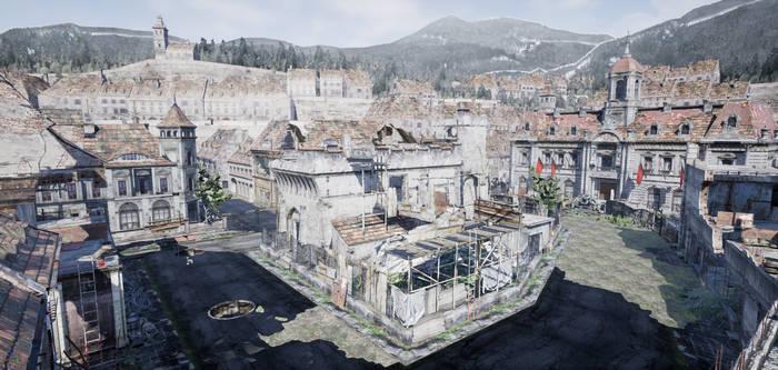 Resident Evil 6 - Requiem For War - Unreal 4 Test