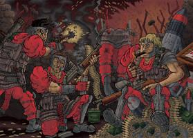 War Zone by MattRIllustration
