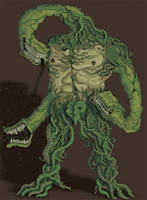 Plant Creature by MattRIllustration