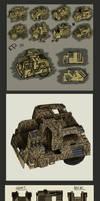 Multiple Missile ---Concept--- by MattRIllustration
