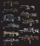 Guns... Lots of Guns.
