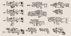 'Alien Earth' Weapons