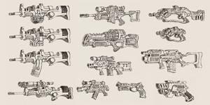 'Alien Earth' Weapons