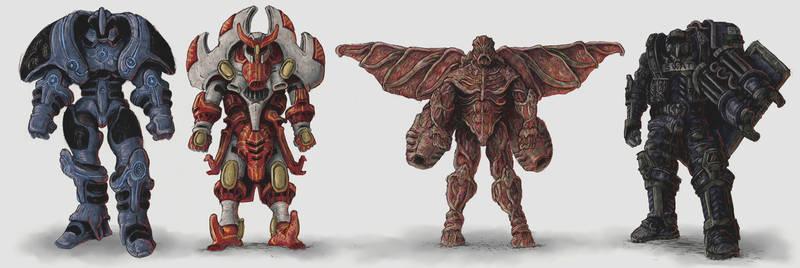 Alien Earth Power Armour