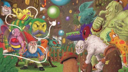 Portfolio 'Gnome Dash'