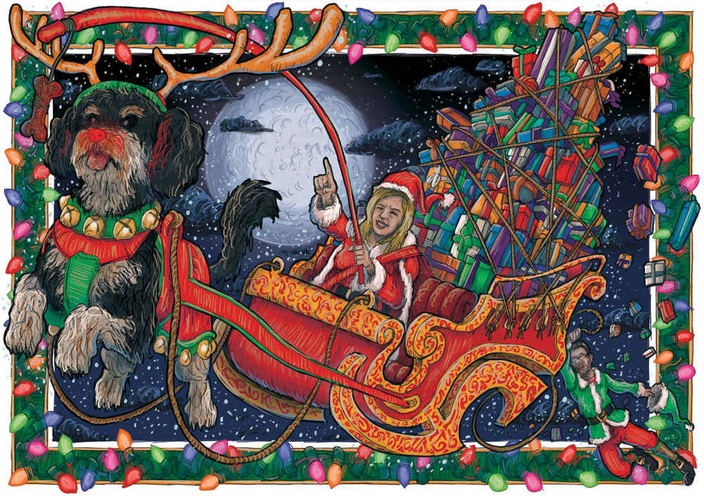 Christmas Card by MattRIllustration