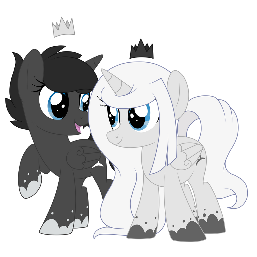 Ivory and Ebony - CM by Cloud-Shaper