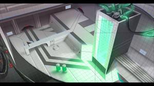 Sci-fi lab grid