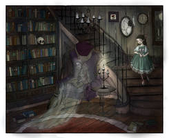 The Forgotten Library by LaraBerge