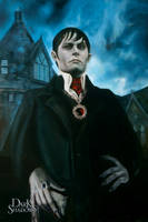 The Barnabas Collins Classic Oil Portrait by armusik