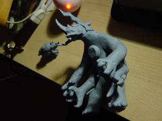 Random Clay Model Idea - Beetlightnoceros 05 by toonstarfreak