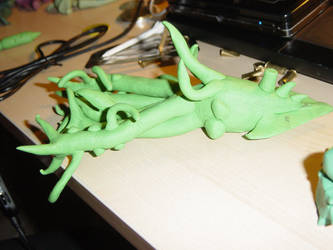 Random Clay Model Idea - 10-T1K3LZ 03 by toonstarfreak