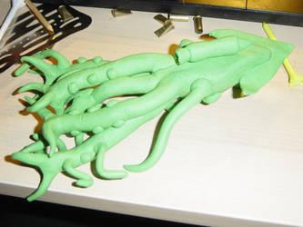 Random Clay Model Idea - 10-T1K3LZ 06 by toonstarfreak
