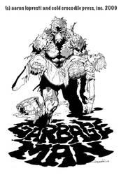Garbage Man promotional art by aaronlopresti