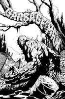 Garbage Man #1 (Weird Worlds #1) interior cover by aaronlopresti