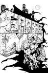 Garbage Man #2 (Weird Worlds #2) interior cover by aaronlopresti