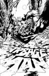 Garbage Man #4 (Weird Worlds #4) interior cover