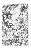 Hulk #102 pg. 5 by aaronlopresti